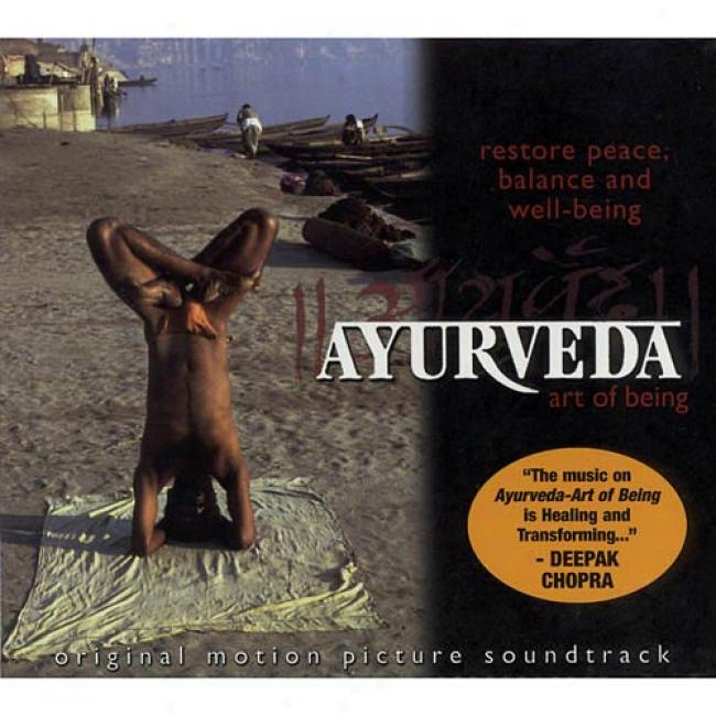 Ayurveda: Art Of Being Soundtrack (digi-pak) (cd Slipcase)