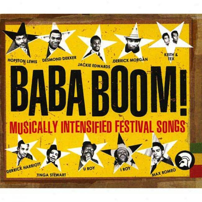 Baba Boom!: Musically Intensified Festival Songs (2cd) (cd Slipcase)