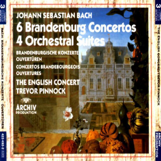 Bach: 6 Brandenburg Concertos/4 Suites/ouvertures