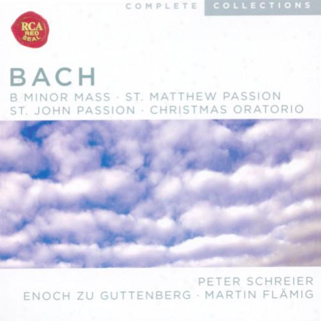 Bach: B Minor Mass/st. Matthew Passion/st. John Passion/christmas Oratorio (10 Disc Box Set)