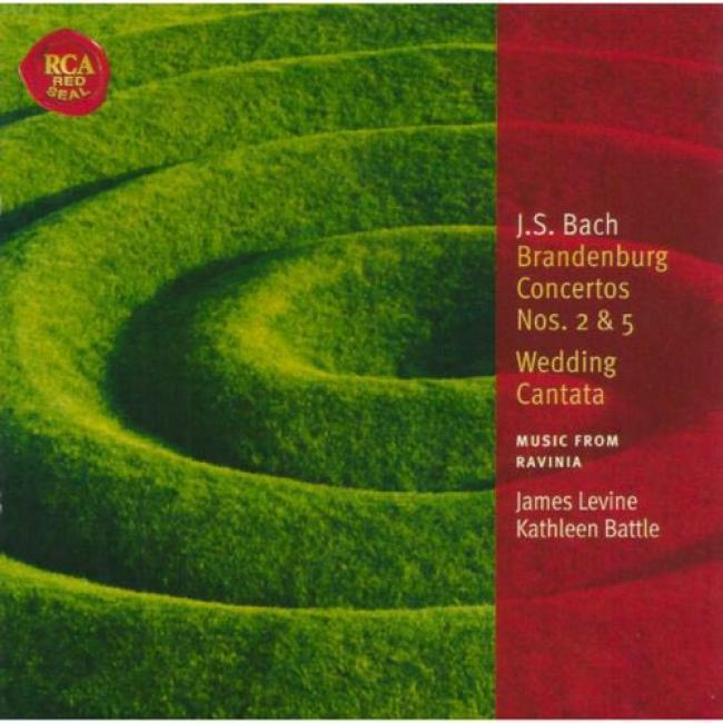 Bach: Brandenburg Concertos Nos.2 & 5/wedding Cantata