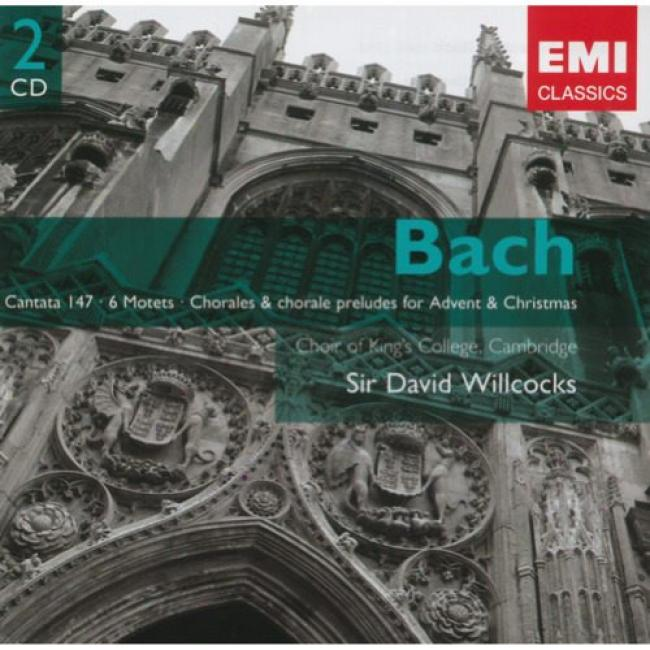Bach: Cantata 147, Motets, Etc. (2cd (remaster)