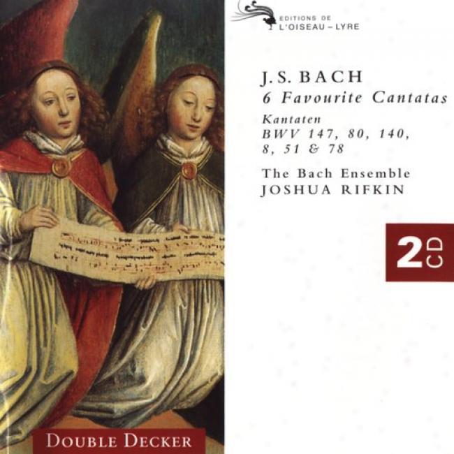 Bach: Cantatas 147, 80, 8, 140, Etc / Rifkin, Bach Ensemble