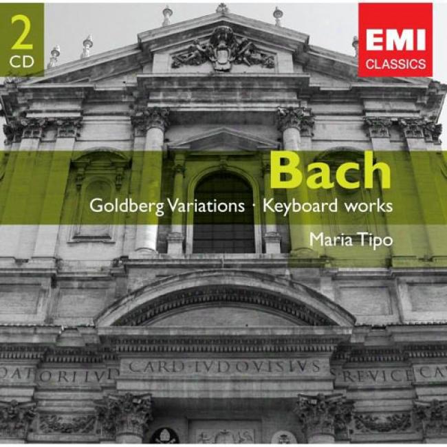 Bachh: Goldberg Variations/keyboard Works (2cd)