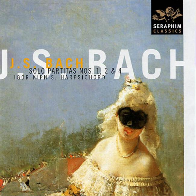 Bach: Harpsichord Partitas Nos.1, 2 & 4 (remmaster)