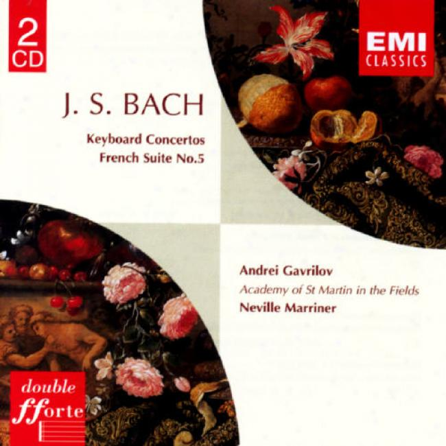 Bach: Keyboard Concertos/french Suite No.5 (2cd)