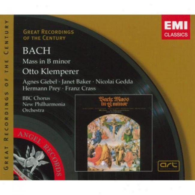 Bach: Mass In B Minor (2 Disc Box Set) (remaster)