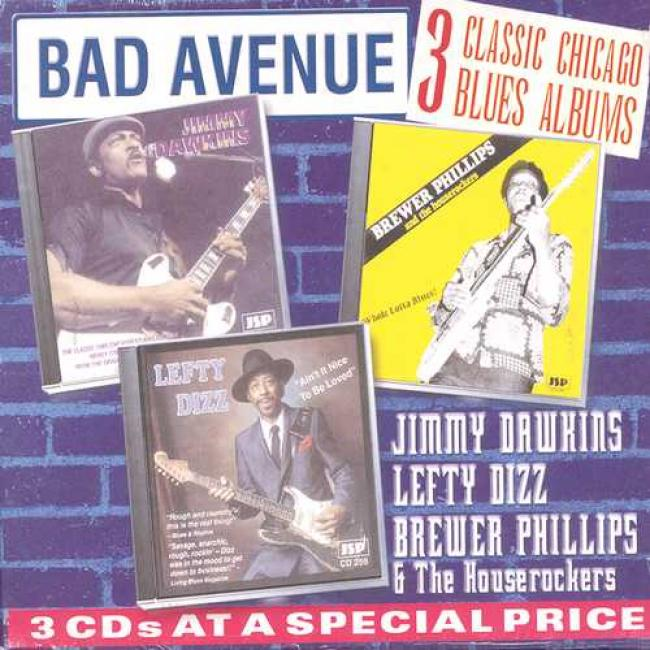 Bad Avenue: Three Classic Chicago Blues Albums (box Set)