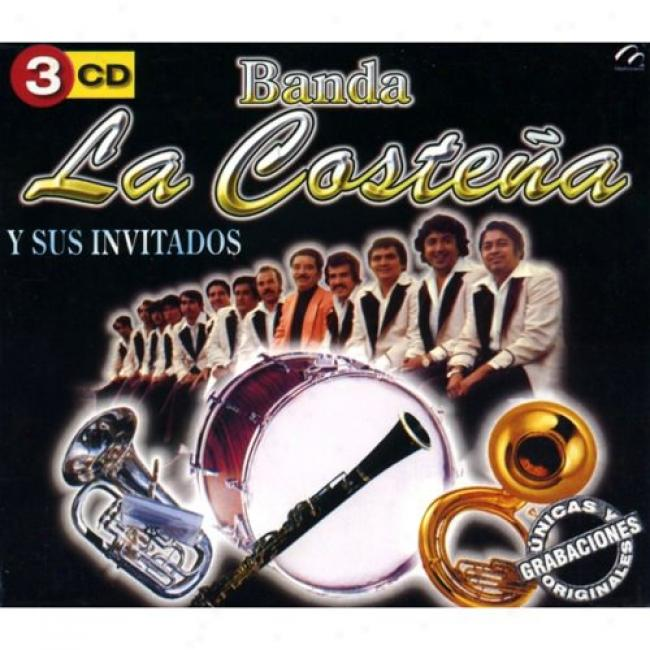 Banda La Costena Y Sus Invitados (3 Disc Box Set)