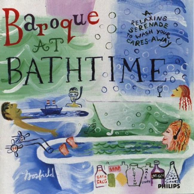 Baroque At Bathtime: A Relaxing Serenade To Wash Your Caress Away