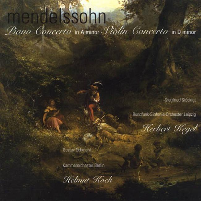 Bartholdy: Piano Concerto In A Minor/violin Concerto In D Minor