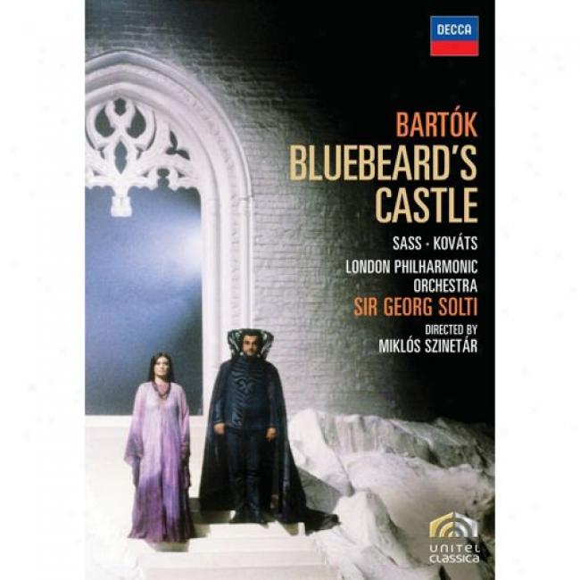 Bartok: B1uebeard's Castle (music Dvd) (amaray Case)