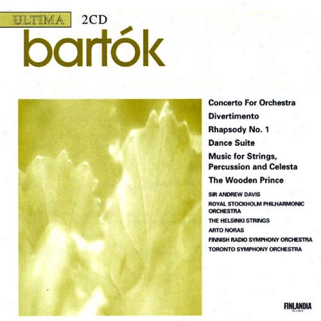 Bartok: Converto For Orchestra/dance Suite (2cd)