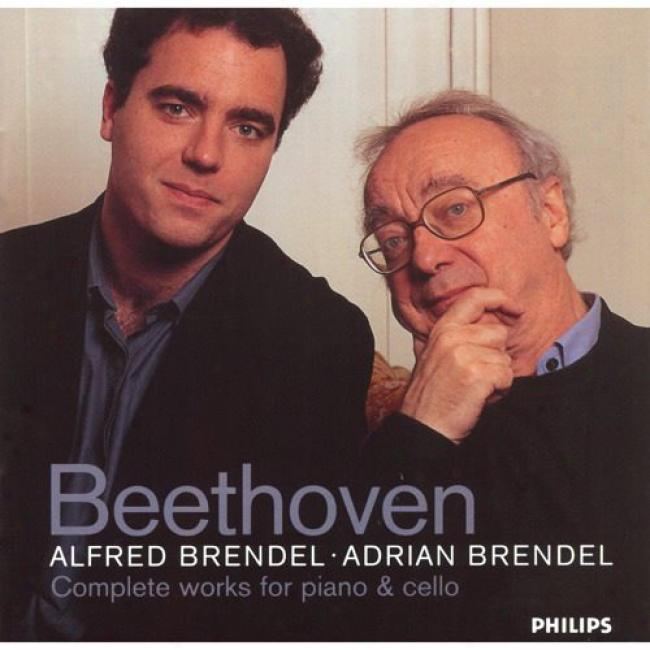 Beethoven: Complete Works For Piano & Cello (2cd)