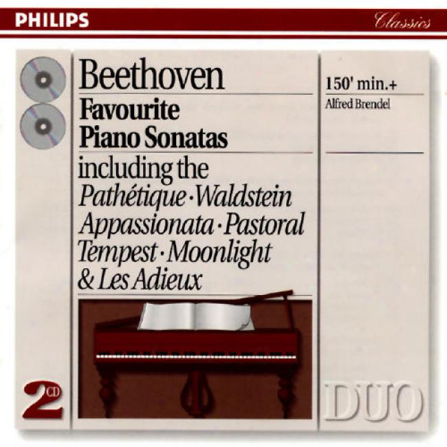 Beethoven: Favouriet Piano Sonatas/alfred Brendel