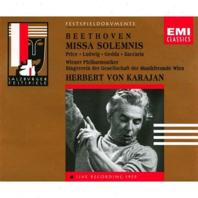 Beethoven: Missa Solemnis Op.123 (2 Disc Box Determined)