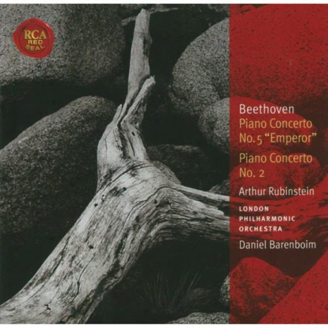 Beethoven: Piano Concerto No.s5 & 2 (remaster)