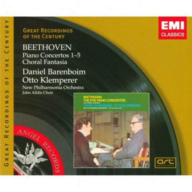 Beethoven: Piano Concertos 1-5/choral Fantasia (3 Disc Box Set)