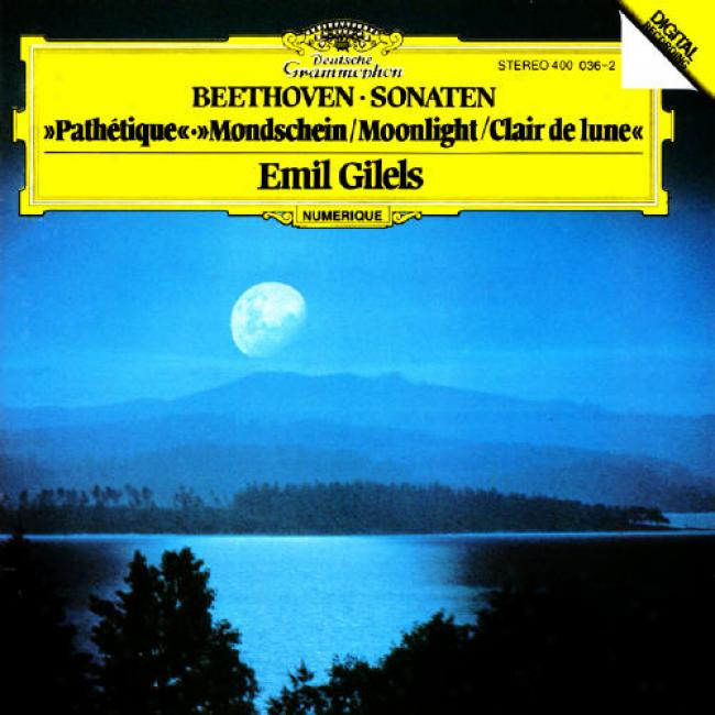 Beethoven: Piano Sonatas - 'moonlight' No.13/'pathetique'