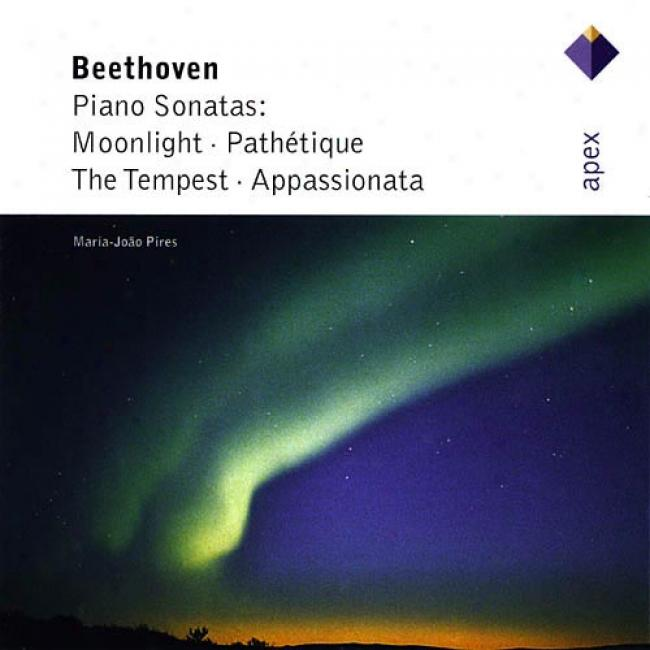 Beethoven: Piano Sonatas - Moonlight/pathetique/the Tempest/appaesionata