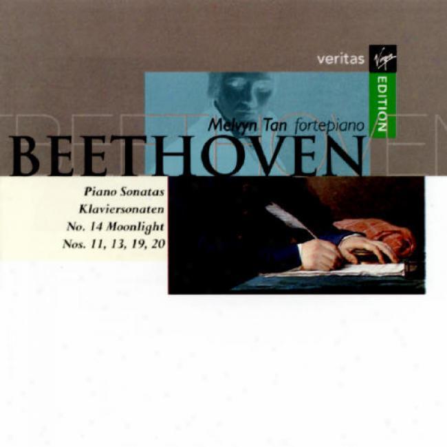 Beethoven: Piano Sonatas Nos 11, 13, 14, 19, & 20