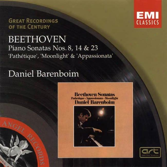 Beethoven: Piano Sonatas Nos.8, 14 & 23 St. Clair Amusement Group, Inc.