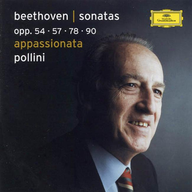 Beethoven: Pian Sonatas Olp.54, 57, 78, & 90 (2cd)