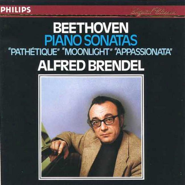 Beethoven: Piano Sonatas 'pathetique', Etc/alfred Brendel