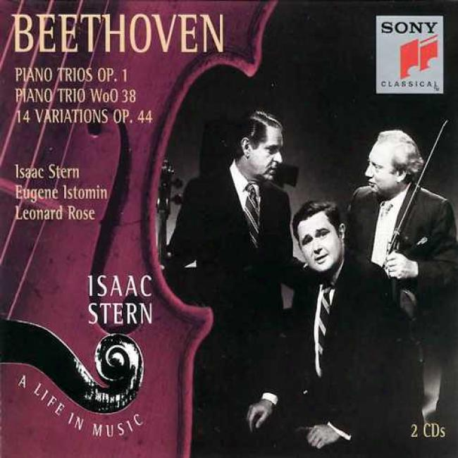 Beethoven: Piano Trios Op.1/piano Trio Woo38/14 Variations Op.44
