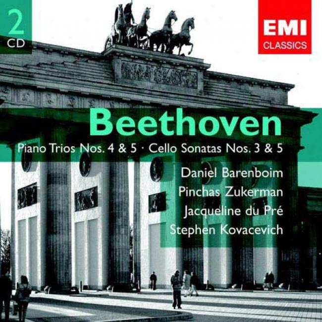Beethoven: Piano Trios, Vol.2 - Cello Sonatas (2cd) (remaster)
