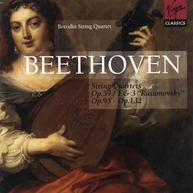 Beethoven: String Quartets Nos.7, 9, 11 & 15 (2cd)
