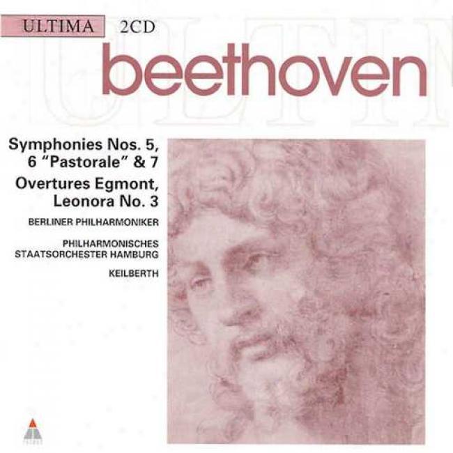 Beethoven: Symphonies No. 5, 6 'pastorale' & 7