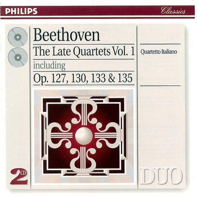 Beethoven: The Late Quartets, Vol.1 (2cd) (remaster)