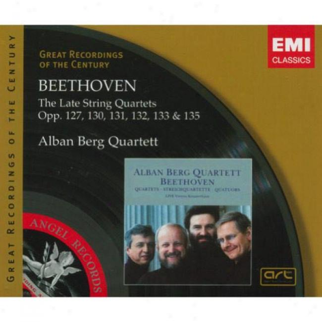 Beethoven: The Late String Quartets (3 Disc Box Set)