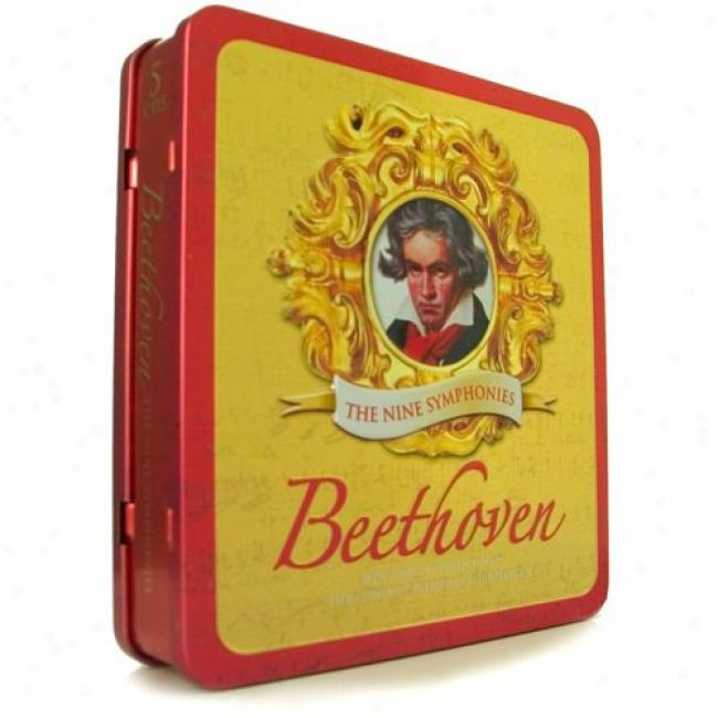 Beethoven: The Nine Symphonies (5 Disc Box Set)