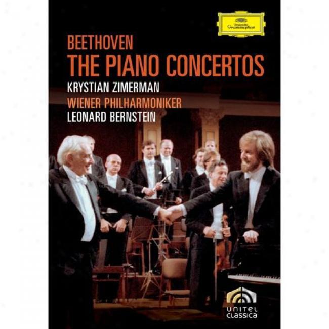 Beethoven: The Piano Concertos (2 Discs Music Dvd) (amaray Case)