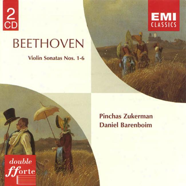 Beethoven: Violin Sonatas Nos.1-6 (2cd) (remaster)