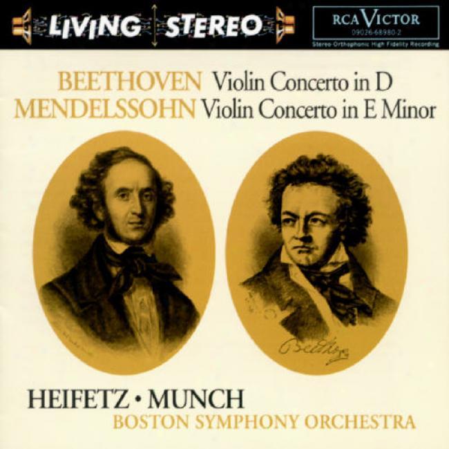 Beethoven/mendelssobn: Violin Concertos (remaster)