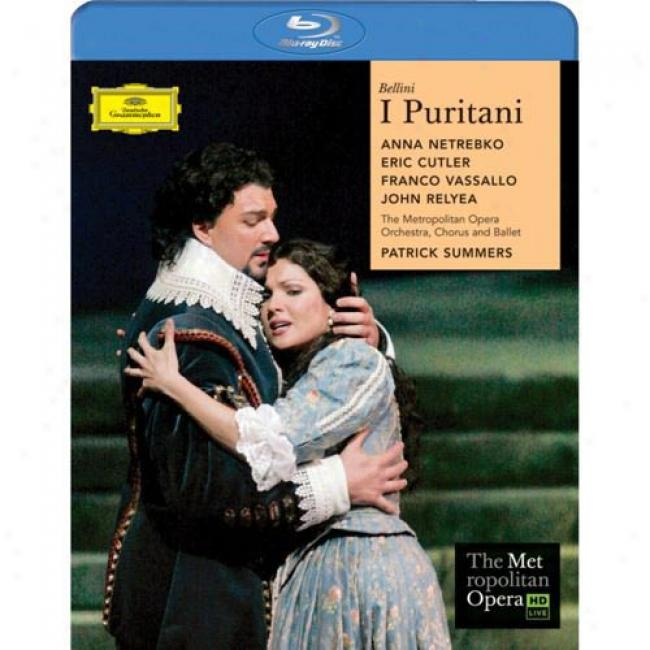 Bellini: I Puritani (music Blu-ray) (bd Amaray Case)