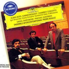 Berg: Kammerkonzert; Stravinsky / Boulez, Barenboim, Et Al