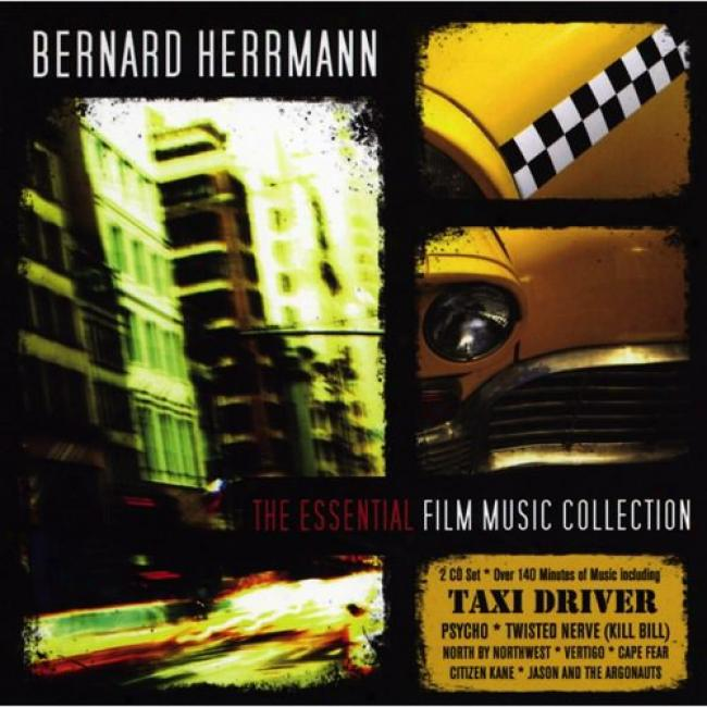 Bernard Herrmann: The Essential Film Music Collection Score (2cd)