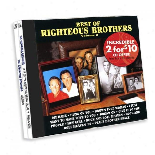 Best Of Righteous Brothers, Vol.2: Then & Now/reunion (2 Disc Box Set)