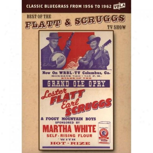 Best Of The Flatt & Scruggs Tv Show, Vol.4 (music Dvd) (digi-pak)