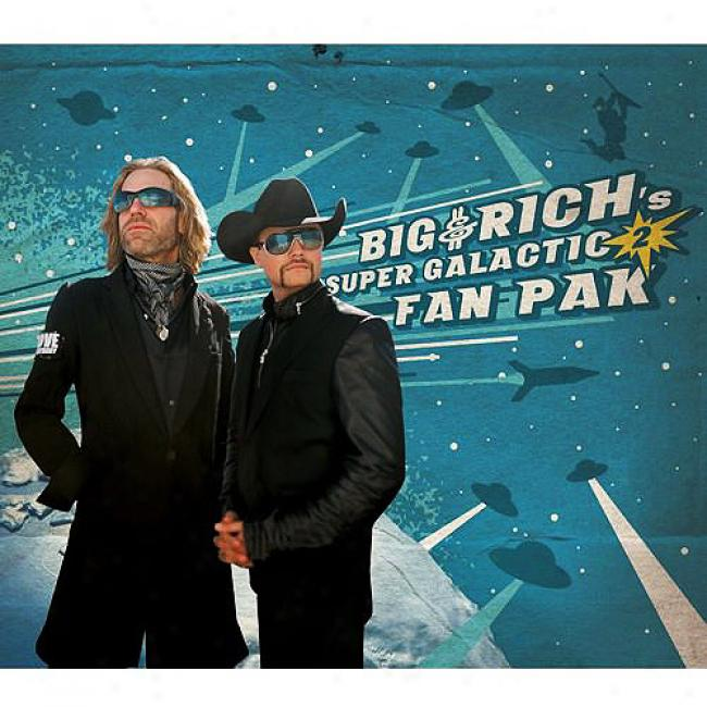 Big & Rich's Super Galactic Use a ~ upon Pak 2 (includes Dvd)