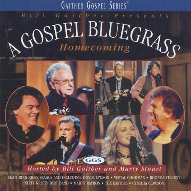 Bill Gaither Presents: A Gospel Bluegrass Homecoming,_Vol.1 (incudes Dvd)