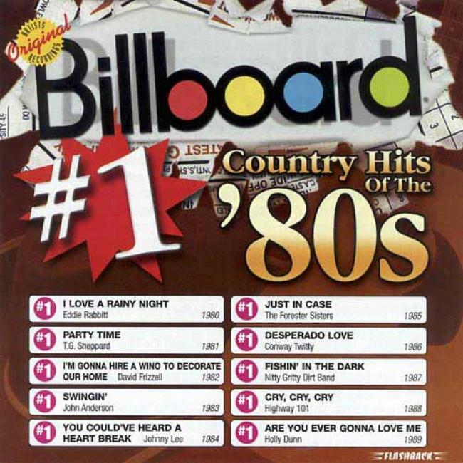 Billboard #1 Country Hits Of The '80s (remaster)