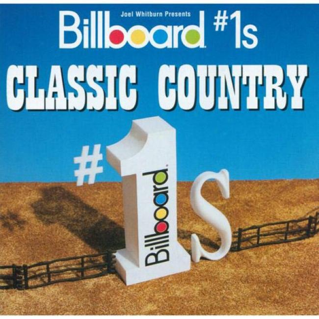 Billlboard #1's: Classic Country (2cd) (remaster)