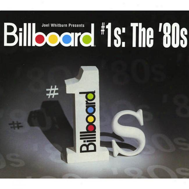 Bill6oard #1's: The '80s (2cd) (cd Slipcase) (remaster)