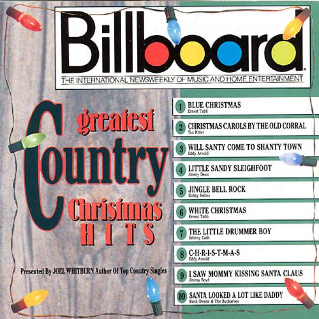 Billboard Greatest Country Christmas Hits (remaster)