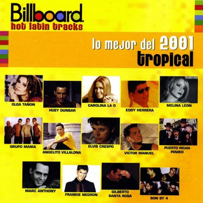 Billboard Hot Language of ancient Rome Tracks: Lo Mejor Del 2001 - Tropical